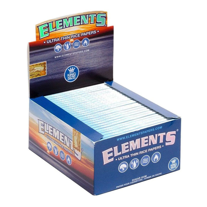 Elements King Size Rolling Papers Case Canada
