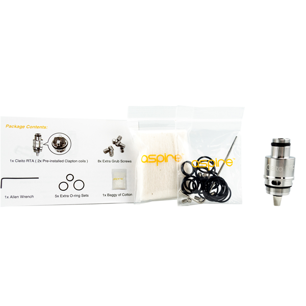 Cleito RTA Aspire Included Parts