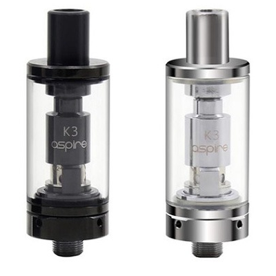 Aspire K3 Tanks Black and Stainless