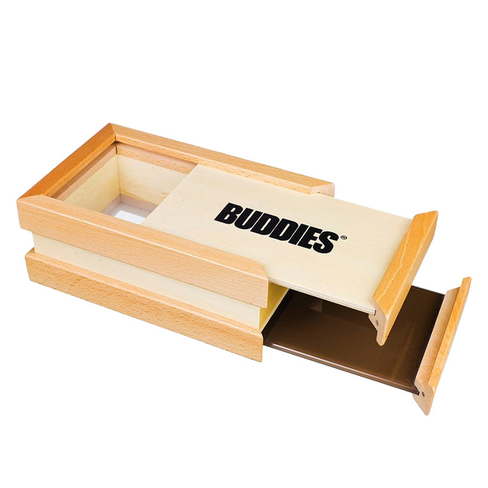 Buddies Sifter Box with Sliding Top and Bottom