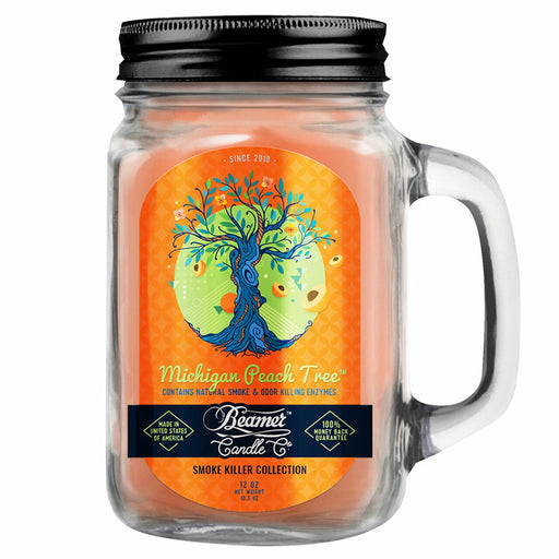 Beamer Candle Michigan Peach Tree with a 12 Ounce Mason Jar Canada