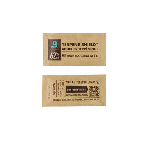 Bulk Boxes of Boveda with Terpene Shield 1 Gram packs
