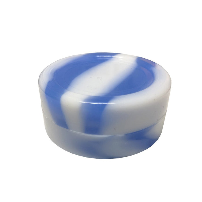 Blue and White large round silicone storage container Canada