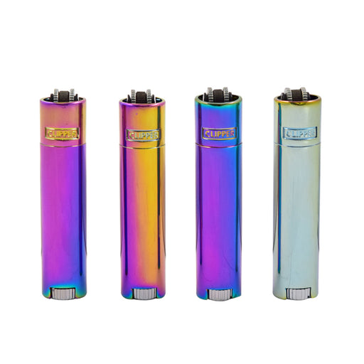 Clipper Micro Metal Lighters Icy Collectible