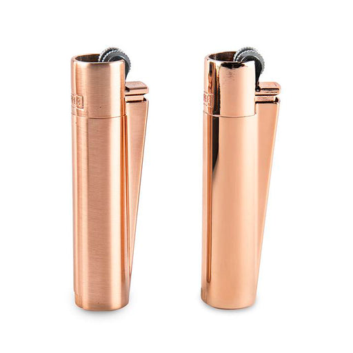 Clipper Rose Gold Metal Lighters Canada