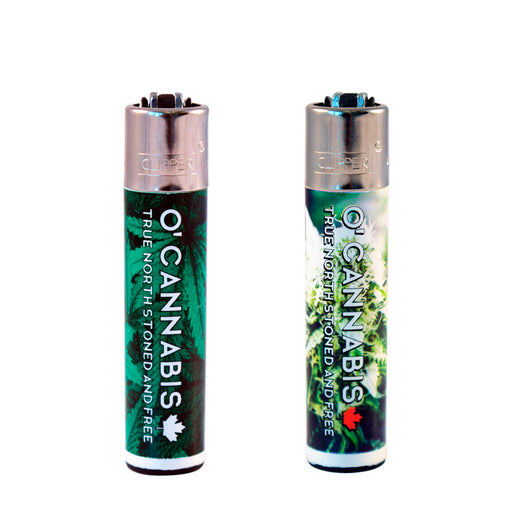 O'Cannabis the True North Stoned and Free Clipper Lighter