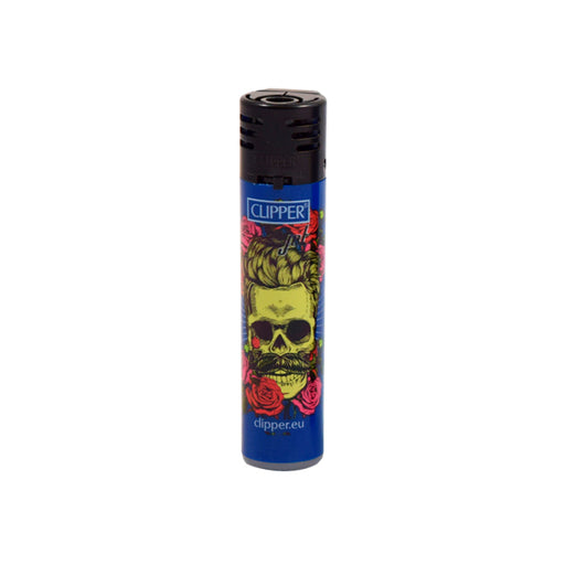 Clipper Jet Flame Skull Collection Lighters Canada