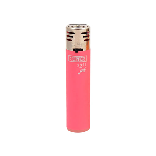 Pink Clipper Soft Touch Jet Flame Lighters Canada