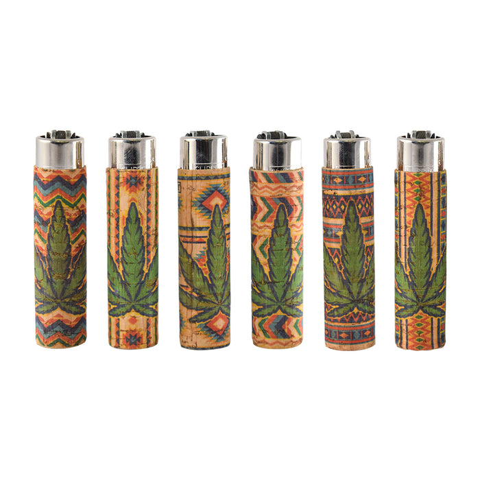 Cork Wrapped Clipper Lighters