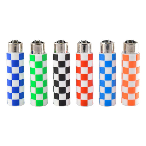 Silicone Wrapped Clipper Lighters Canada Squares