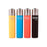 Clipper Soft Touch Solid Color Refillable Lighters