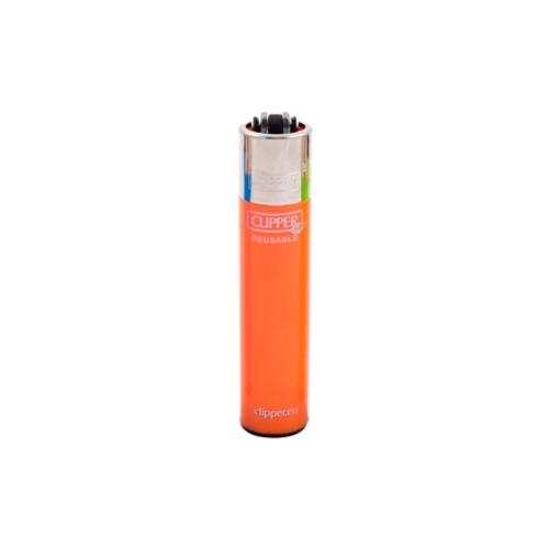 Fluorescent Orange Clipper Lighter Canada