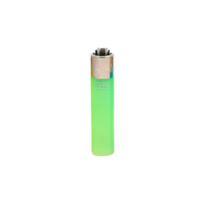 Lime Clipper Translucent Micro Lighters Canada