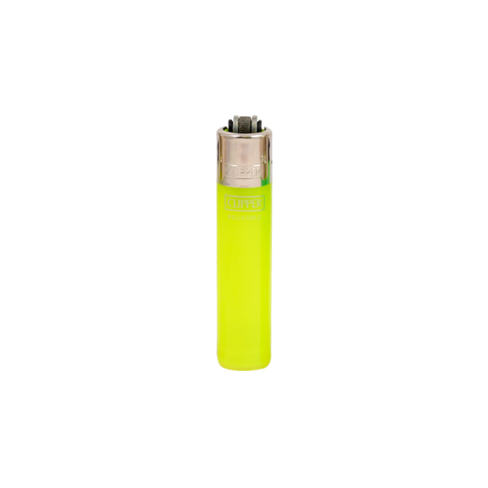 Yellow Clipper Translucent Micro Lighters Canada