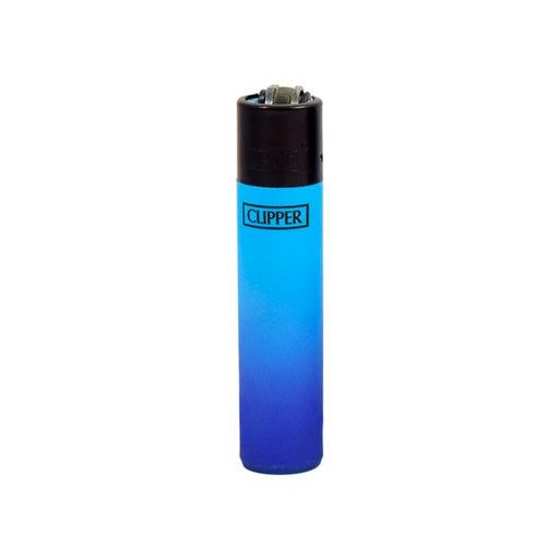 Clipper Lighters Canada Metallic Gradient Light Blue