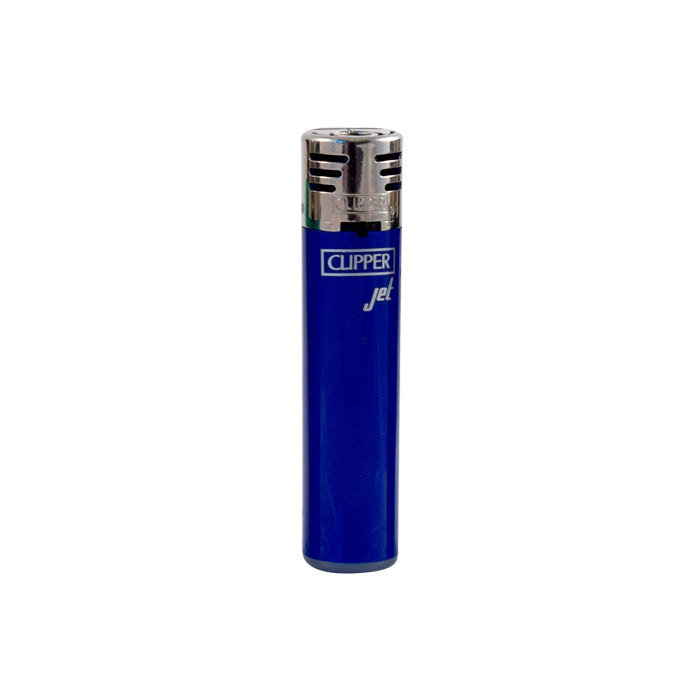dark blue Clipper Jet Flame Lighter