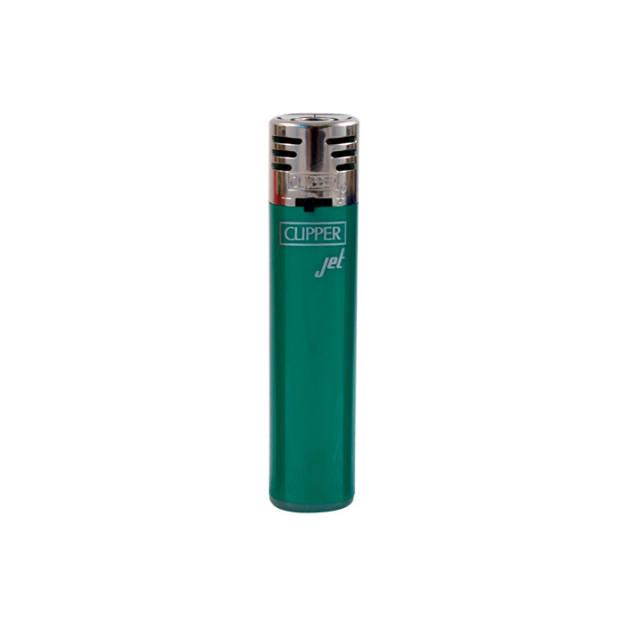 green Clipper Jet Flame Lighter
