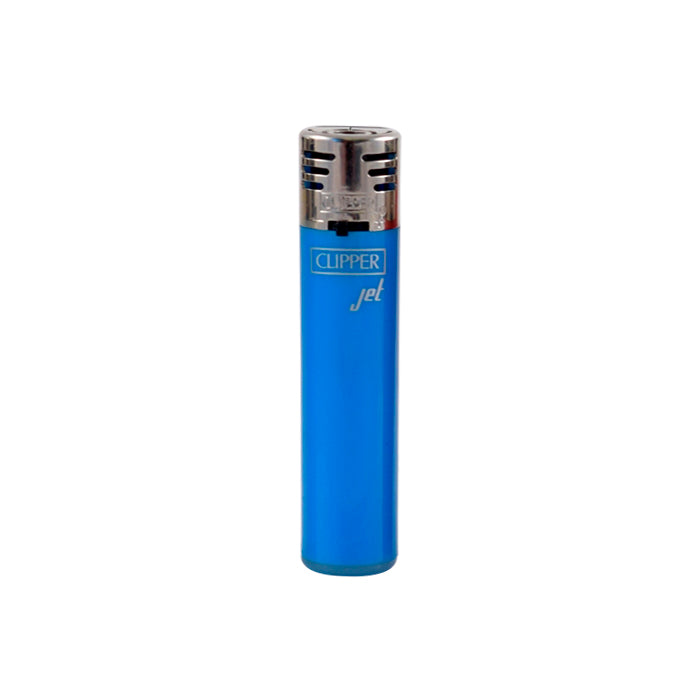 Light Blue Clipper Jet Flame Lighter