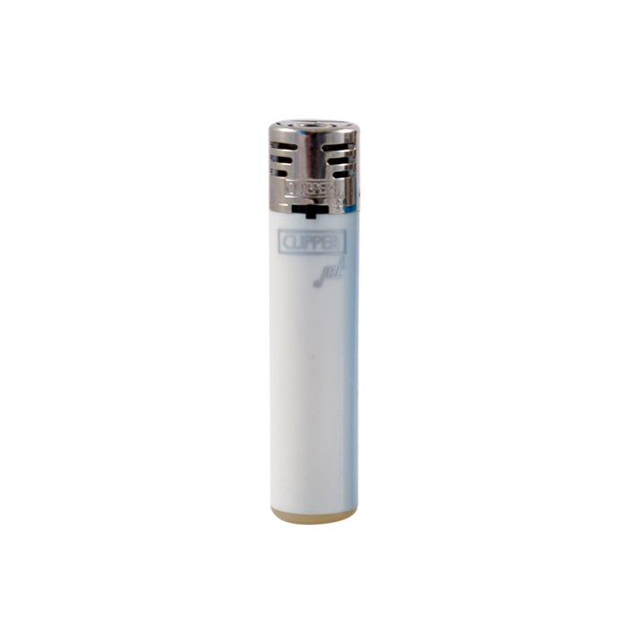 White Clipper Jet Flame Lighter