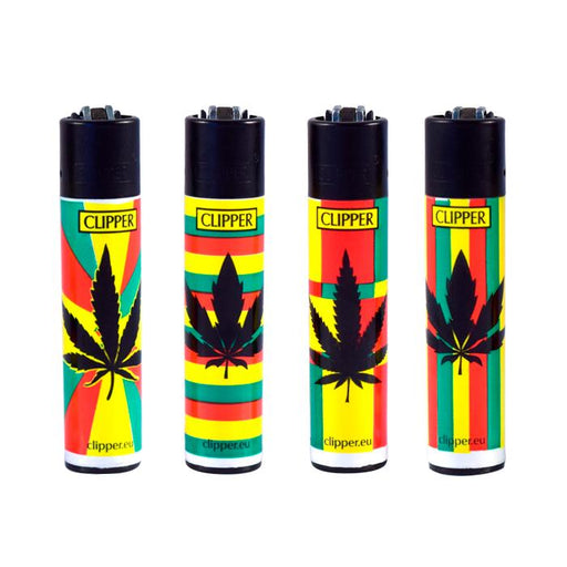 Reggae Print Clipper Lighters Canada