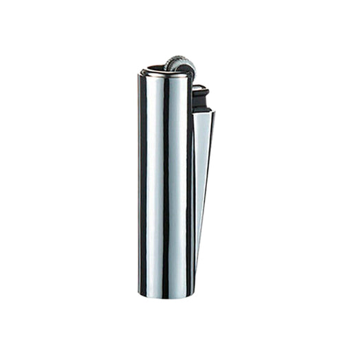 Shiny Metal Silver Clipper Lighters Canada