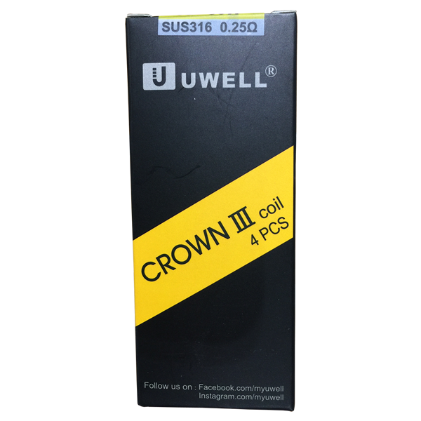 Uwell Crown 3 0.25 ohm Replacement Coils
