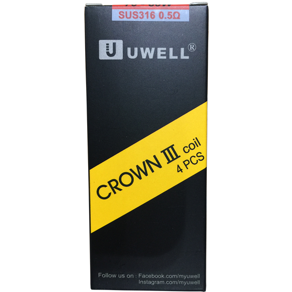 Uwell Crown 3 0.5 ohm Replacement Coils