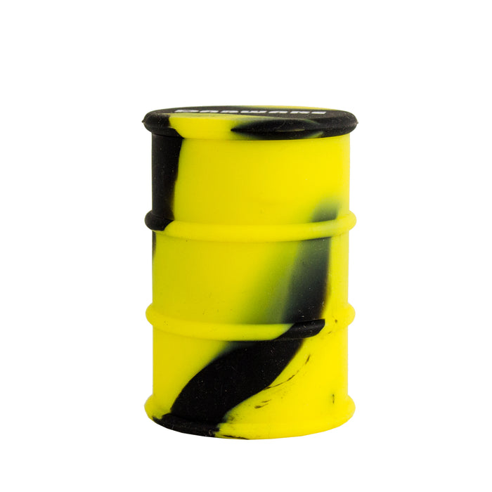 Yellow Silicone Oil Drum Dab Barrel Canada