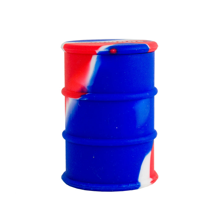 Blue Red Silicone Oil Drum Dab Barrel Canada