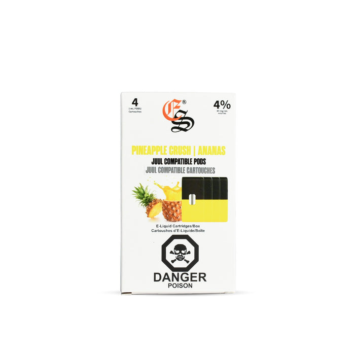 Pineapple Eonsmoke Nic Salt Pods Juul Compatible