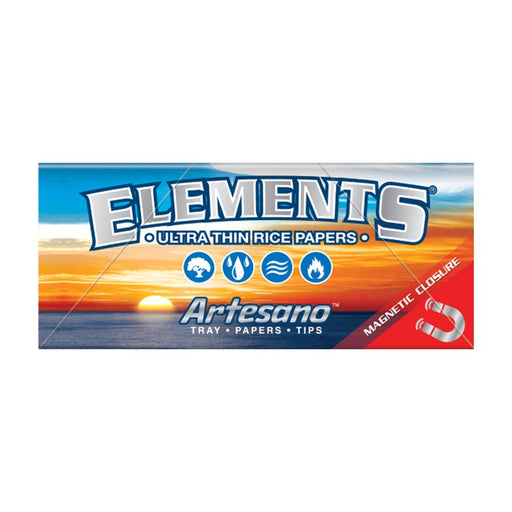King Size Elements Artesano Rice Papers
