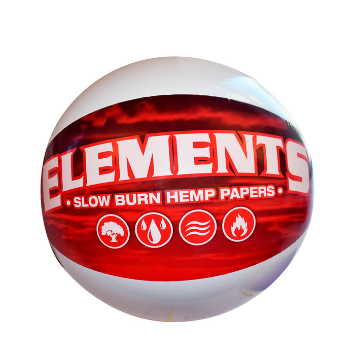 Red Elements Beach Ball