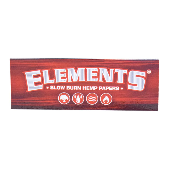 Red Elements Rolling Papers Magnet