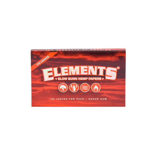 Elements Red Hemp Rolling Papers Canada