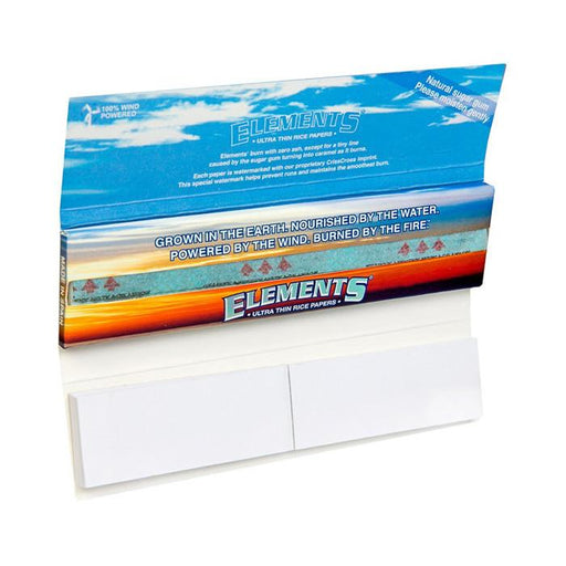 Elements Connsoisseur Rolling Papers King Size Slim Canada