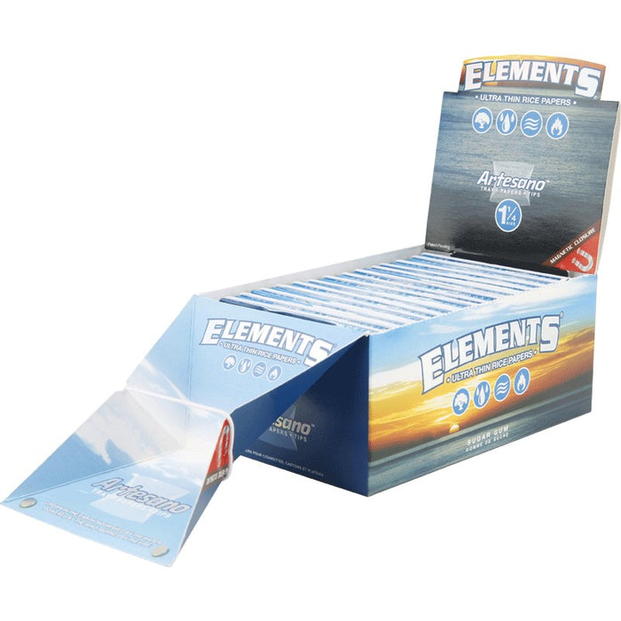 Case of Elements Artesano Rice Rolling Papers