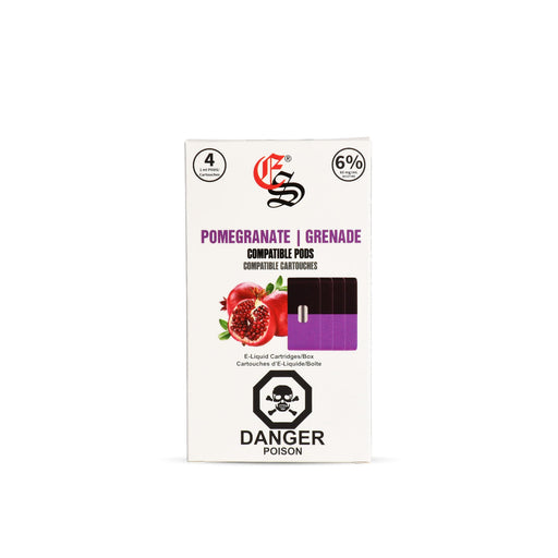 Pomegranate Nic Salt Pods Juul Compatible
