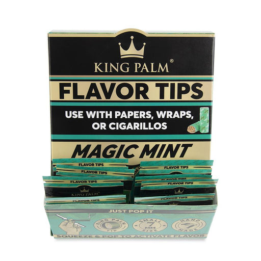 King Palm Terp Filter Tips Mint Canada