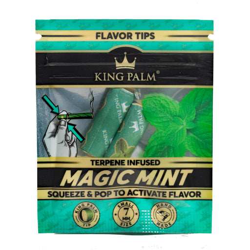 King Palm Mint Terp Filter Tips Canada
