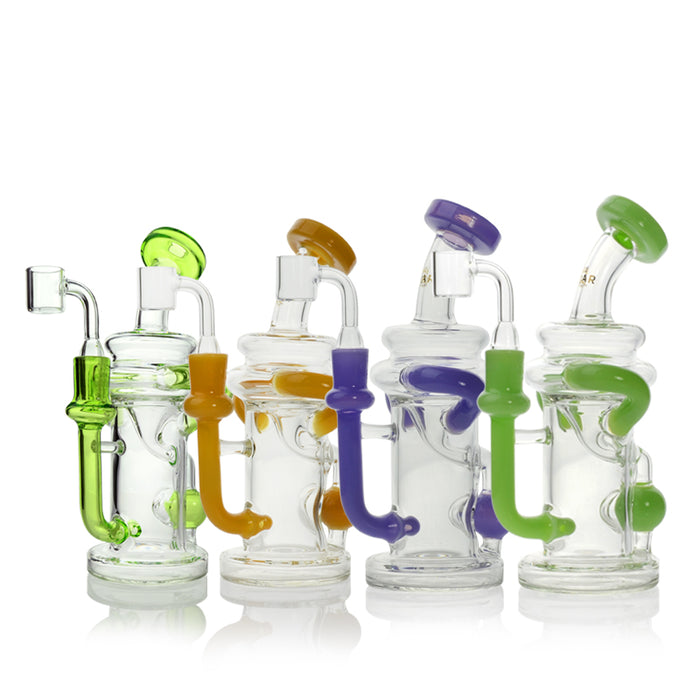 Dab Rigs Canada Concentrate Recycler with Injection Perc and Quartz Banger