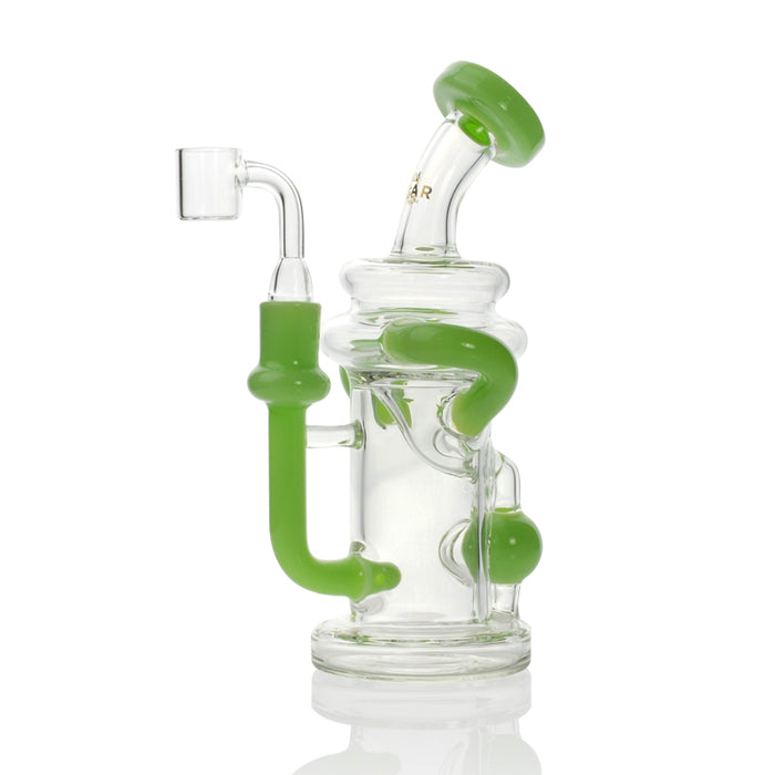 Concentrate Recycler with Injection Perc and Quartz Banger