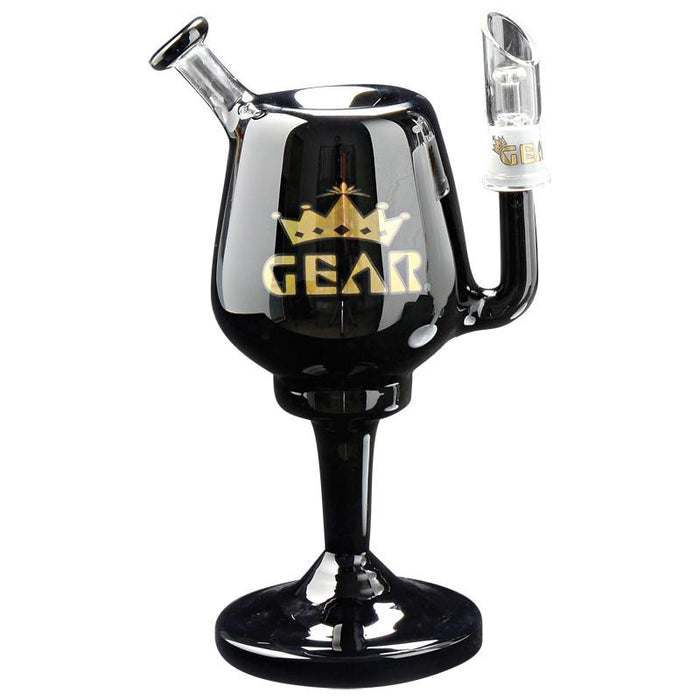 "GEAR 8"" Goblet Concentrate Bubbler Dab Rig"