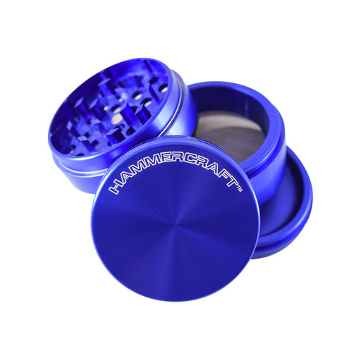 Blue Anodized Aluminum Grinder with Sifter Pollinator Canada