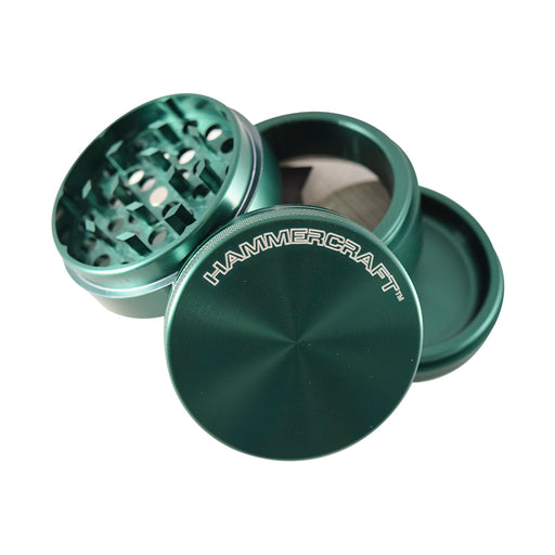 4 piece anodized aluminum grinder with sifter