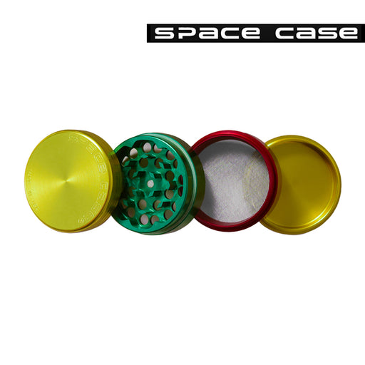 Space Case Rasta Grinder and Polinator Sifter 4 Piece