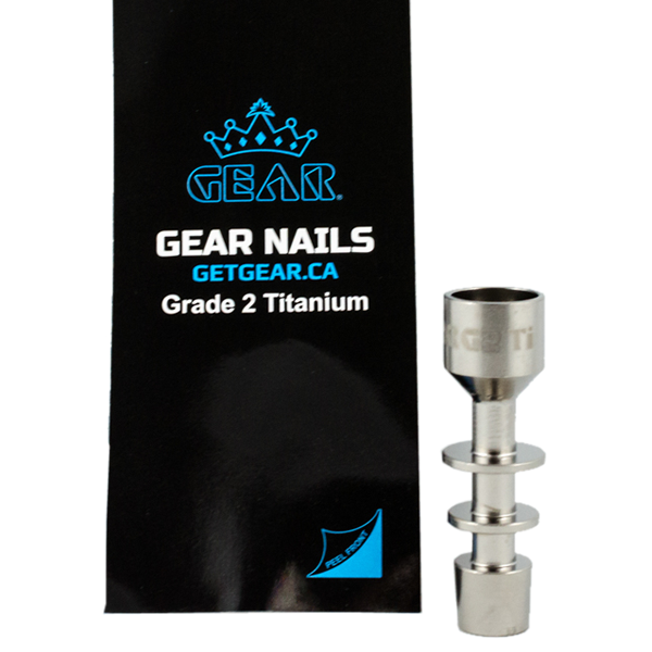 Gear Domeless Titanium Nail Male