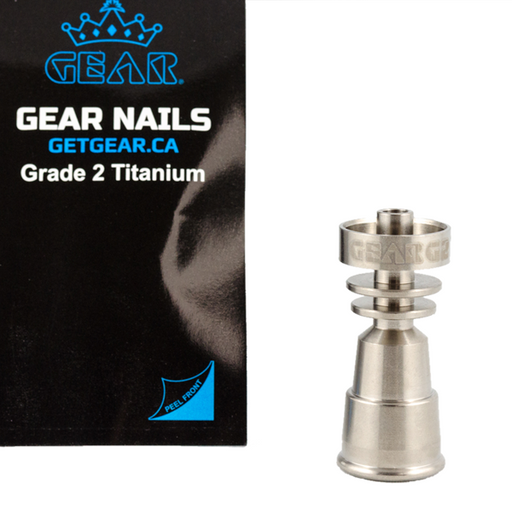 Gear Domeless Titanium Nail Female
