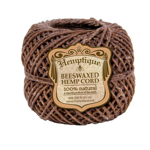 200 Feet of Bees Waxed Hemp Wick Canada Hemptique