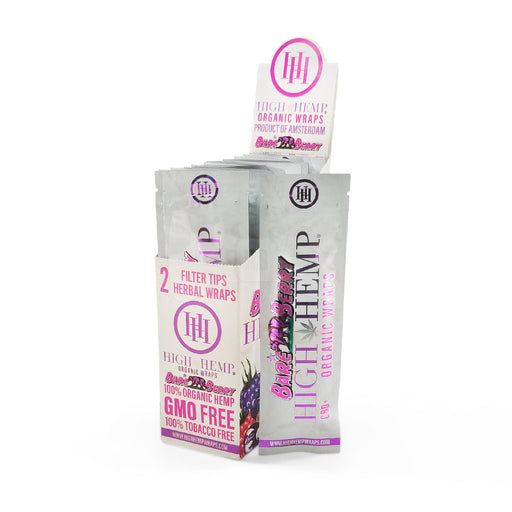 Bare Berry High Hemp Wraps Organic Canada