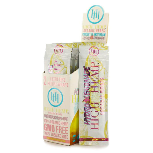 Hydro Lemonade High Hemp Organic Wraps Canada